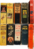 Big Little Book:Miscellaneous, Big Little Book Adventure Group (Whitman, 1934-66).... (Total: 10Items)
