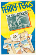 Memorabilia:Poster, The Nutty Network Cartoon Theatrical Poster (Terrytoons,1939)....