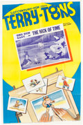 Memorabilia:Poster, The Nick of Time Cartoon Theatrical Poster (Terrytoons,1939). ...