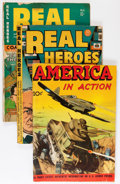Golden Age (1938-1955):War, Miscellaneous Golden Age War Related Comics Group (VariousPublishers, 1940s).... (Total: 15 Items)