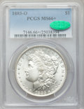 Morgan Dollars: , 1883-O $1 MS66+ PCGS. CAC. PCGS Population (702/35). NGC Census:(980/34). Mintage: 8,725,000. Numismedia Wsl. Price for pr...