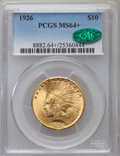 Indian Eagles, 1926 $10 MS64+ PCGS. CAC....