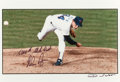 Movie/TV Memorabilia:Autographs and Signed Items, Rare Nolan Ryan's '5000th Strikeout' Signed Photograph. ...