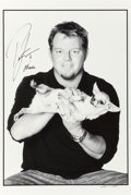 Music Memorabilia:Autographs and Signed Items, Pat Green Signed Photograph ...