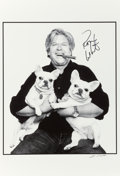 Movie/TV Memorabilia:Autographs and Signed Items, Ron White Signed Photograph ...