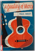 Books:Fiction, Paul West. SIGNED. A Quality of Mercy. Chatto & Windus,1961. First edition. Publisher's original cloth and pric...