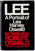 Books:Biography & Memoir, Robert Oswald. INSCRIBED. Lee: A Portrait of Lee HarveyOswald. Coward-McCann, Inc., 1967. First edition. Insc...