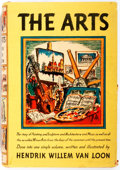 Books:Art & Architecture, Hendrik Willem Van Loon. The Arts. Simon and Schuster, 1939. Illustrated by the author. Publisher's original clo...