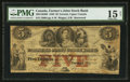 Canadian Currency: , Toronto, UC- Farmer's Joint Stock Bank $5 Feb. 1, 1849 Ch. #280-12-06. ...