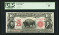 Large Size:Legal Tender Notes, Fr. 122 $10 1901 Legal Tender PCGS Very Choice New 64.. ...