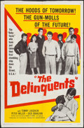 """Movie Posters:Exploitation, The Delinquents (United Artists, 1957). One Sheet (27"""" X 41""""). Exploitation.. ..."""