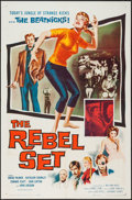 "Movie Posters:Exploitation, The Rebel Set (Allied Artists, 1959). One Sheet (27"" X 41"").Exploitation.. ..."