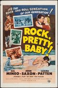 "Movie Posters:Rock and Roll, Rock, Pretty Baby (Universal International, 1957). One Sheet (27"" X41""). Rock and Roll.. ..."