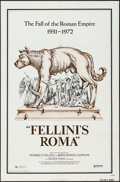 """Movie Posters:Foreign, Fellini's Roma (United Artists, 1972). One Sheet (27"""" X 41""""). Foreign.. ..."""