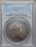 Early Dollars, 1803 $1 Large 3 Fine 15 PCGS. B-6, BB-255, R.2....