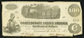 Confederate Notes:1862 Issues, T40 $100 1862 PF-4 Cr. UNL.. ...