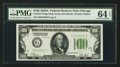 Small Size:Federal Reserve Notes, Fr. 2151-G $100 1928A Federal Reserve Note. PMG Choice Uncirculated 64 EPQ.. ...