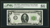Fr. 2151-G $100 1928A Federal Reserve Note. PMG Choice Uncirculated 64 EPQ