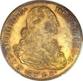 Colombia, Colombia: Charles IV 8 Escudos 1793 NR-JJ,...