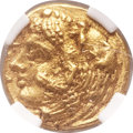 Ancients:Greek, Ancients: SICILY. Syracuse. Time of Dionysius I (405-367 BC). AV 20litrae / tetradrachm (10mm, 0.99 gm, 9h). ...