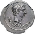Ancients:Roman Imperial, Ancients: Augustus (27 BC-AD 14). AR cistophorus (28mm, 11.77 gm,12h). ...