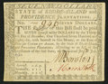 Colonial Notes:Rhode Island, Rhode Island July 2, 1780 $7 Very Fine-Extremely Fine.. ...