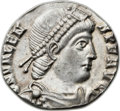 Ancients:Roman Imperial, Ancients: Valens, Eastern Roman Emperor (AD 364-378). AR miliarense(21mm, 3.21 gm, 12h). ...