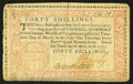 Colonial Notes:Pennsylvania, Pennsylvania April 10, 1777 40s Very Fine.. ...