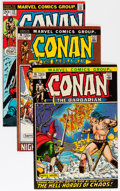 Bronze Age (1970-1979):Adventure, Conan the Barbarian Group (Marvel, 1972-73) Condition: Average NM-.... (Total: 4 Comic Books)