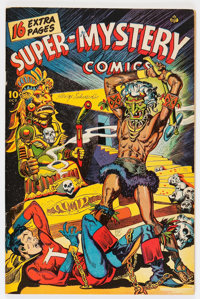 Super-Mystery Comics V6#2 (Ace, 1946) Condition: FN