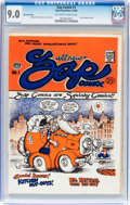 Silver Age (1956-1969):Alternative/Underground, Zap Comix #1 Second Printing (Apex Novelties, 1968) CGC VF/NM 9.0Off-white to white pages....