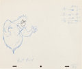 Animation Art:Production Drawing, Casper and the Angels Harry Scary Animation ProductionDrawing Original Art Group (Hanna-Barbera, c. 1979).... (Total: 2Items)
