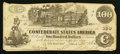 Confederate Notes:1862 Issues, T39 $100 1862 PF-11.. ...