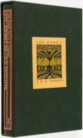 Books:Literature 1900-up, J.R.R. Tolkien. The Hobbit. Boston: Houghton Mifflin,[1973]. First printing of the collector's edition. Octavo. 317...