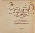"""Miscellaneous:Ephemera, The J.R.R. Tolkien Calendar, 1976. Illustrated by the BrothersHildebrandt. Includes """"the most important dates in middle ear..."""