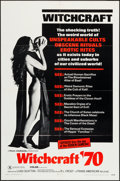 "Movie Posters:Exploitation, Witchcraft '70 (Trans American, 1970). One Sheet (27"" X 41"").Exploitation.. ..."