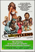 "Movie Posters:Sexploitation, Beneath the Valley of the Ultra-Vixens (RM Films, 1979). One Sheet(27"" X 41""). Sexploitation.. ..."