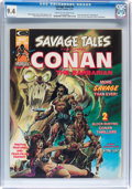 Magazines:Superhero, Savage Tales #4 (Marvel, 1974) CGC NM 9.4 Cream to off-whitepages....