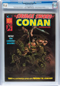 Magazines:Adventure, Savage Sword of Conan #6 (Marvel, 1975) CGC NM+ 9.6 Off-white to white pages....