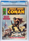 Magazines:Adventure, Savage Sword of Conan #10 (Marvel, 1976) CGC NM+ 9.6 Off-white to white pages....