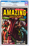 Golden Age (1938-1955):Science Fiction, Amazing Adventures #2 (Ziff-Davis, 1951) CGC FN+ 6.5 Off-whitepages....