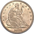 Seated Half Dollars, 1878-S 50C MS61 PCGS. WB-101....