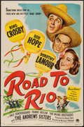 """Movie Posters:Comedy, Road to Rio (Paramount, 1948). One Sheet (27"""" X 41""""). Comedy.. ..."""