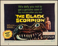 "Movie Posters:Science Fiction, The Black Scorpion (Warner Brothers, 1957). Half Sheet (22"" X 28"").Science Fiction.. ..."