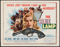 "The Blue Lamp (Eagle Lion, 1950). Half Sheet (22"" X 28""). Crime"