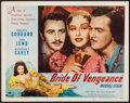 "Movie Posters:Adventure, Bride of Vengeance (Paramount, 1949). Half Sheet (22"" X 28"") StyleB. Adventure.. ..."