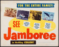"Movie Posters:Short Subject, Jamboree (Exploitation Productions, 1954). Half Sheet (22"" X 28"").Short Subject.. ..."