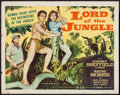 "Movie Posters:Adventure, Lord of the Jungle (Allied Artists, 1955). Half Sheet (22"" X 28"").Adventure.. ..."