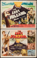 "Movie Posters:Adventure, The Lost Volcano (Monogram, 1950). Half Sheets (2) (22"" X 28"")Styles A & B. Adventure.. ... (Total: 2 Items)"