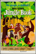 "Movie Posters:Animation, The Jungle Book (Buena Vista, 1967). One Sheet (27"" X 41"").Animation.. ..."